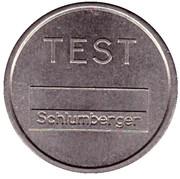 Telephone Token - St. Petersburg (Test) – reverse