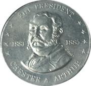 Token - Shell's Mr. President Coin Game (Chester A. Arthur; Instant Winner) – obverse