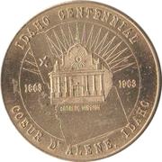 50 Cents - Idaho Centennial (Coeur d' Alene, Idaho) – obverse