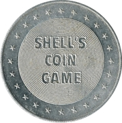 Token - Shell's States of the Union Coin Game, Version 1 (Indiana) – reverse