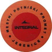 Token - Integral (Jesenice) – reverse