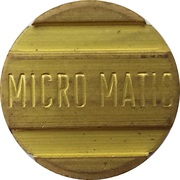 Car Wash Token - Micro Matic – obverse