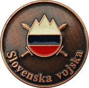 Token - Slovenska vojska (Poveljstvo sil SV) – reverse