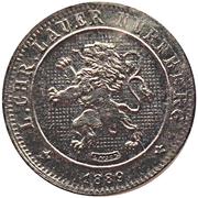 5 Centimes 1889 (Lauer Imitation Nürnberg) – obverse