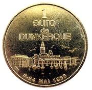 1 Euro - Dunkerque (Jean Bart) – reverse