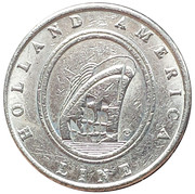 5 Cents - Holland America Line – obverse