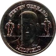 Token - Official England Squad 2004 (Steven Gerrard) – obverse