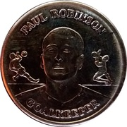Token - Official England Squad 2004 (Paul Robinson) – obverse