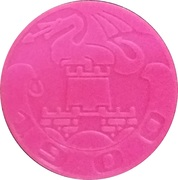 Token - LPP (Urban bus transport; pink) – obverse