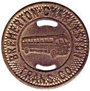 1 Full Fare - Bremerton Charleston Trans. Co. (Bremerton, Washington) – obverse