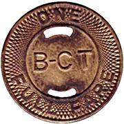 1 Full Fare - Bremerton Charleston Trans. Co. (Bremerton, Washington) – reverse