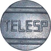 Telephone Token - TELESP (São Paulo State DDD Call) – obverse