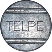 Telephone Token - TELPE (Pernanbuco State Local Call) – obverse