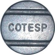 Telephone Token - COTESP (São Paulo) – obverse