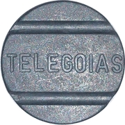 Telephone Token - TELEGOIAS (Goiás State Local Call) – obverse