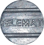 Telephone Token - TELEMAT (Mato Grosso State Local Call) – obverse