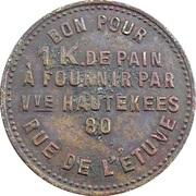 1 Kilo de Pain - Hautekees (Bruxelles) – reverse