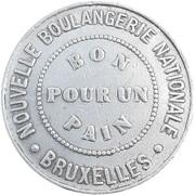 1 Pain - Nouvelle Boulangerie Nationale (Bruxelles) – obverse