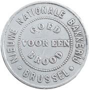1 Pain - Nouvelle Boulangerie Nationale (Bruxelles) – reverse