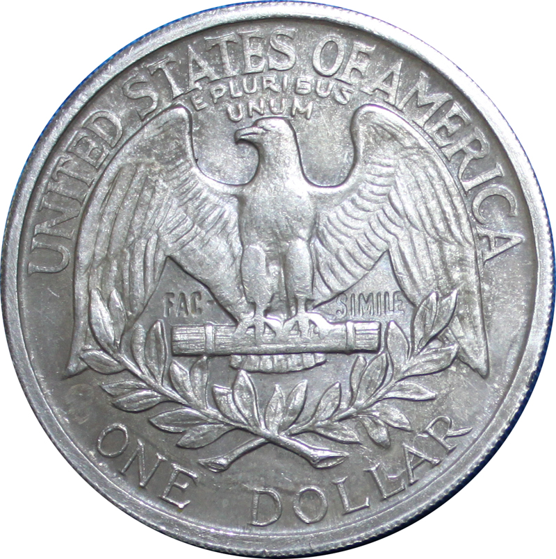 1 Dollar Quot Washington Quot Fun Coin Tokens Numista