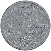 5 Centimes - Boulangerie (Soignies) – obverse