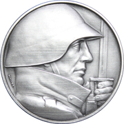 Medal - Completion of Military Conscription – obverse