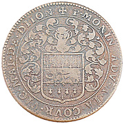 Token - États de Bourgogne (Maire de Dijon Pierre Monin) – reverse
