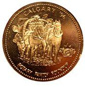 Souvenir Dollar - Calgary Stampede 1996 – obverse