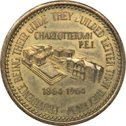 Token - Centennial First Confederation Conference – obverse