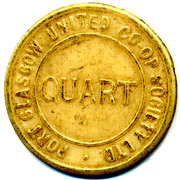 Quart - Port Glasgow Uniterd CSL (Renfrewshire) – obverse