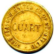 Quart - Port Glasgow Uniterd CSL (Renfrewshire) – reverse