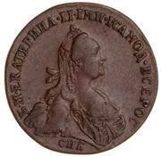 Token - Catherine II (Court carousel) – obverse