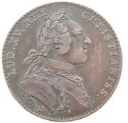 Token - Louis XV (Etats de Bourgogne) – obverse