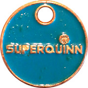 Shopping Cart Token - Superquinn – obverse