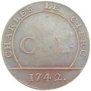 Token - Charles Le Clerc (Président au Parlement 1742) – obverse