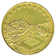 1 Euro (Saint-Laurent-du-Var) – reverse