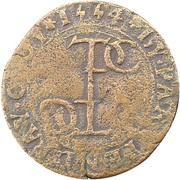 Token - Philippe III de Croÿ – reverse
