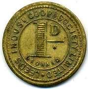 1 Penny - Leeds Ind CSL (Yorkshire) – reverse