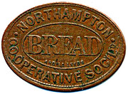 Bread Token - Northampton CSL (Northamptonshire) – obverse