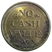 Token - Wash 'N Go Coin Laundry – reverse