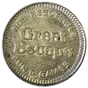 Token - Great Escape – obverse