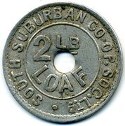 2 Lb Loaf - South Suburban CSL (Surrey) – reverse