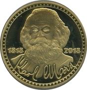 Token - Karl Marx – obverse