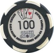Token - Casino Olympia Conti Group – reverse