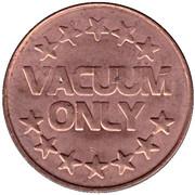 Token - Vacuum Only – reverse