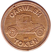 Carwash Token (No Cash Value; 25 mm; HM) – obverse
