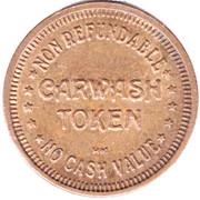 Carwash Token (No Cash Value; 25 mm; HM) – reverse