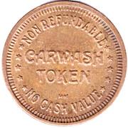 Carwash Token - Gold Star (Richmond, British Columbia) – reverse