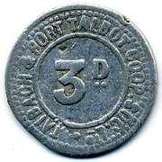 3 Pence - Taibach & Port Talbot CSL (Glamorgan, Wales) – obverse