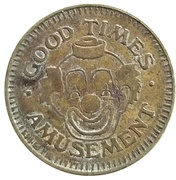 Token - Good Times Amusement – obverse